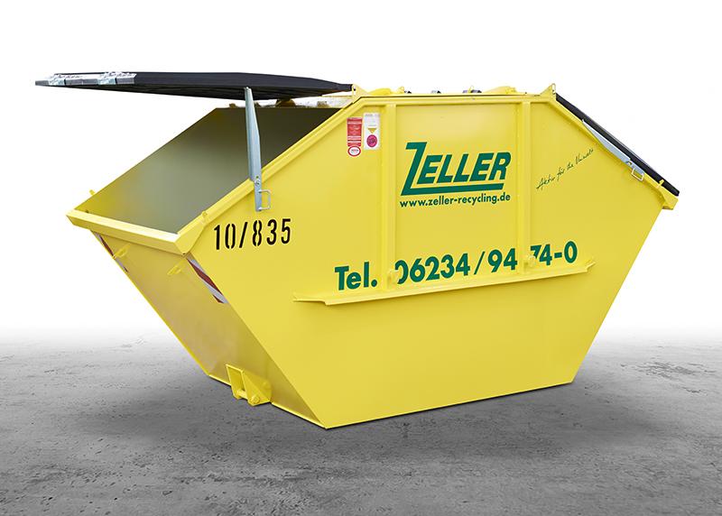 Relativ Zeller Recycling: Containergrößen und -formen EQ17