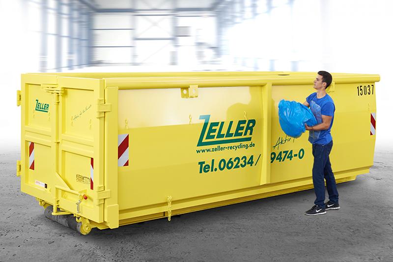 Berühmt Zeller Recycling: Containergrößen und -formen YE81