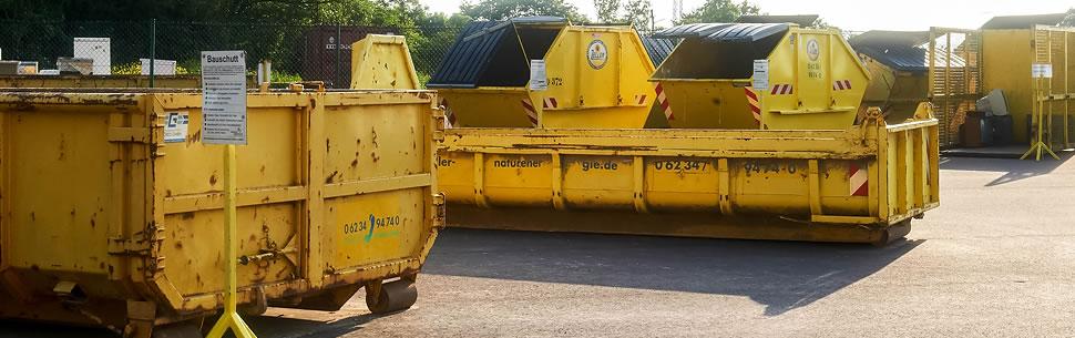 Fabulous Zeller Recycling: Containergrößen und -formen PS74